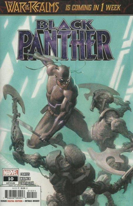 BLACK PANTHER #10 1ST PRINTING BARTEL SPIDER-MAN VILLAINS VARIANT COVER 2019