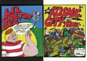Westport Trucker Silver Criket's Kosmic City Komix Issue # 1
