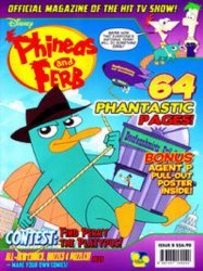 Disney Worldwide Publishing's Phineas and Ferb Issue # 9