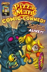 Shanamation Publishing's Pizza Man: Comic Conned Issue # 1