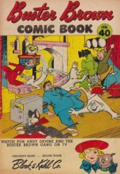 Buster Brown Shoes's Buster Brown Comics Issue # 40block&kuhl