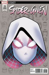 Marvel Comics's Spider-Gwen Issue # 25c