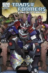 IDW Publishing's Transformers: Robots in Disguise Issue # 34
