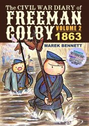 Comics Workshop's Civil War Diary of Freeman Colby TPB # 2