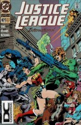 DC Comics's Justice League International Issue # 67b