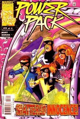 Power pack 1 marvel comics for Powers bureau issue 13
