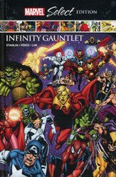 Marvel Comics's Marvel Select: Infinity Gauntlet Hard Cover # 1