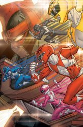 BOOM! Studios's Saban's Go Go Power Rangers: Back To School Issue # 1c