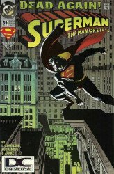 DC Comics's Superman: Man of Steel Issue # 39b