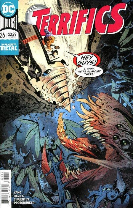 DC COMICS // Plastic man TOM STRONG New Age NM THE TERRIFICS #1 1st Print