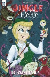 IDW Publishing's Jingle Belle Homemades Tale Issue # 1