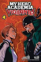 Viz Media's My Hero Academia: Vigilantes Soft Cover # 4