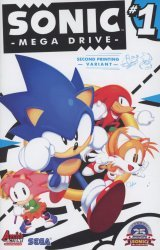 Archie's Sonic Mega Drive Issue # 1b