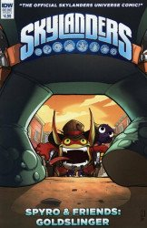 IDW Publishing's Skylanders: Spyro & Friends: Goldslinger Issue # 1