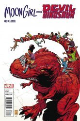 Marvel's Moon Girl and Devil Dinosaur Issue # 7c