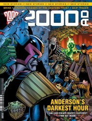 Rebellion's 2000 A.D. Issue # 2100