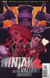 Valiant Entertainment's Ninjak vs The Valiant Universe Issue # 3