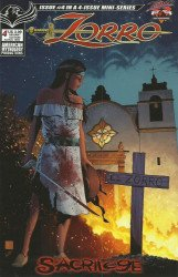 American Mythology's Zorro: Sacrilege Issue # 4b