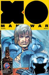 Valiant Entertainment's X-O Manowar Issue # 1larrys