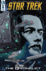 IDW Publishing's Star Trek: The Q Conflict Issue # 5b