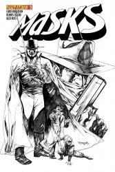 Dynamite Entertainment's Masks Issue # 6j