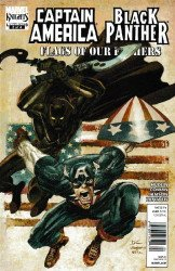 Marvel Knights's Captain America / Black Panther: Flags of Our Fathers Issue # 2b