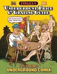 Hippy Comix Inc's Fogel's Underground Price & Grading Guide Hard Cover # 1