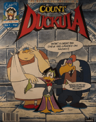 Celebrity Comics's Count Duckula Issue # 1