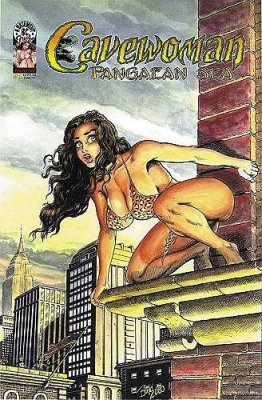 basement amryl entertainment 39 s cavewoman pangaean sea issue 2