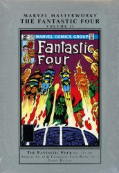 Marvel Comics's Marvel Masterworks: The Fantastic Four Hard Cover # 21