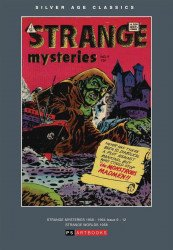 PS Artbooks's Silver Age Classics: Strange Mysteries Hard Cover # 1