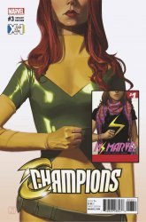 Marvel Comics's Champions Issue # 3e