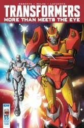 IDW Publishing's Transformers: More Than Meets the Eye Issue # 55sub