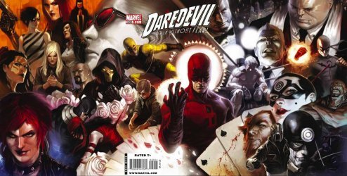 Marvel Comics's Daredevil Issue # 500
