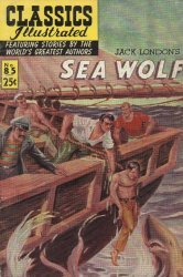 Gilberton Publications's Classics Illustrated #85: The Sea Wolf Issue # 1h
