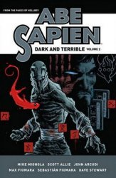 Dark Horse Comics's Abe Sapien: Dark And Terrible Hard Cover # 2