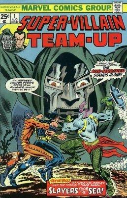 Marvel Comicss Super Villain Team Up Issue 1