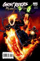 Marvel Comics's Ghost Riders: Heaven's on Fire Issue # 5
