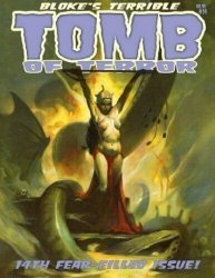 Hoffman & Crawley's Bloke's Terrible Tomb of Terror Issue # 14
