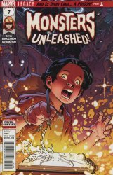 Marvel Comics's Monsters Unleashed Issue # 7
