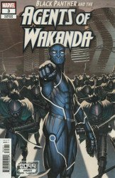 Marvel Comics's Black Panther and the Agents of Wakanda Issue # 3c