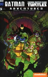 IDW Publishing's Batman / Teenage Mutant Ninja Turtles Adventures Issue # 3c