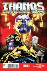 Marvel's Thanos: A God Up There Listening Issue # 4