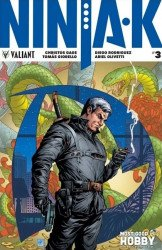 Valiant Entertainment's Ninja-K Issue # 3most good hobby