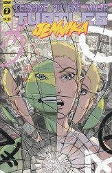 IDW Publishing's Teenage Mutant Ninja Turtles: Jennika Issue # 2