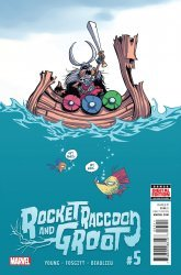 Marvel's Rocket Raccoon and Groot Issue # 5