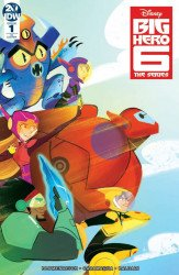 IDW Publishing's Big Hero 6: The Series Issue # 1ri