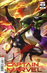 Marvel Comics's Captain Marvel Issue # 15b