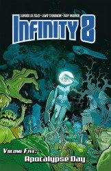 Lion Forge Comics's Infinity 8 Hard Cover # 5