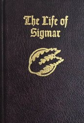 Black Library's Life of Sigmar  Hard Cover # 1